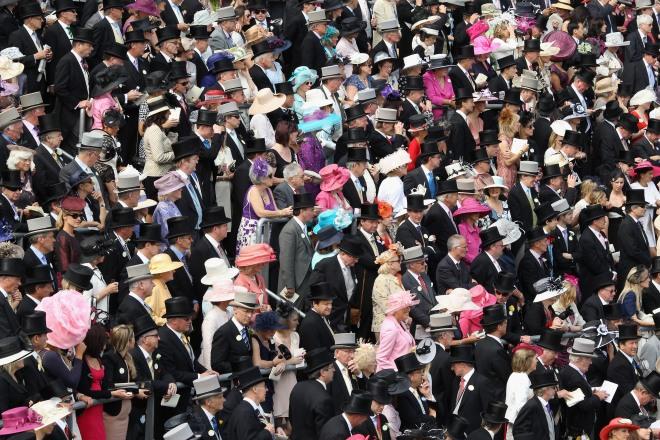 Racegoers Enjoy The Start Of Royal Ascot