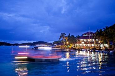 The Bitter End Yacht Club, North Sound, Virgin Gorda, British Virgin Islands.